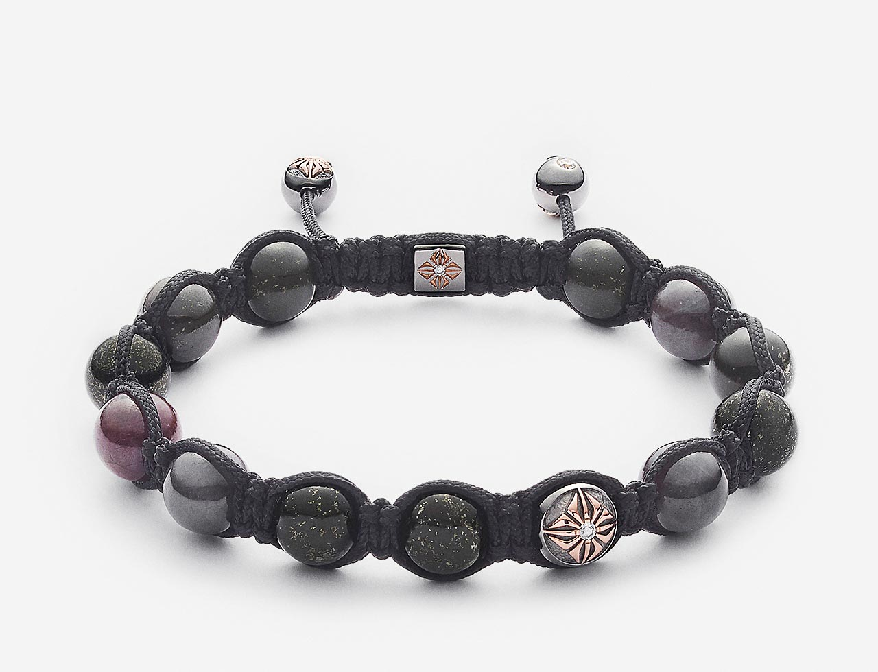 braided shamballa bracelet