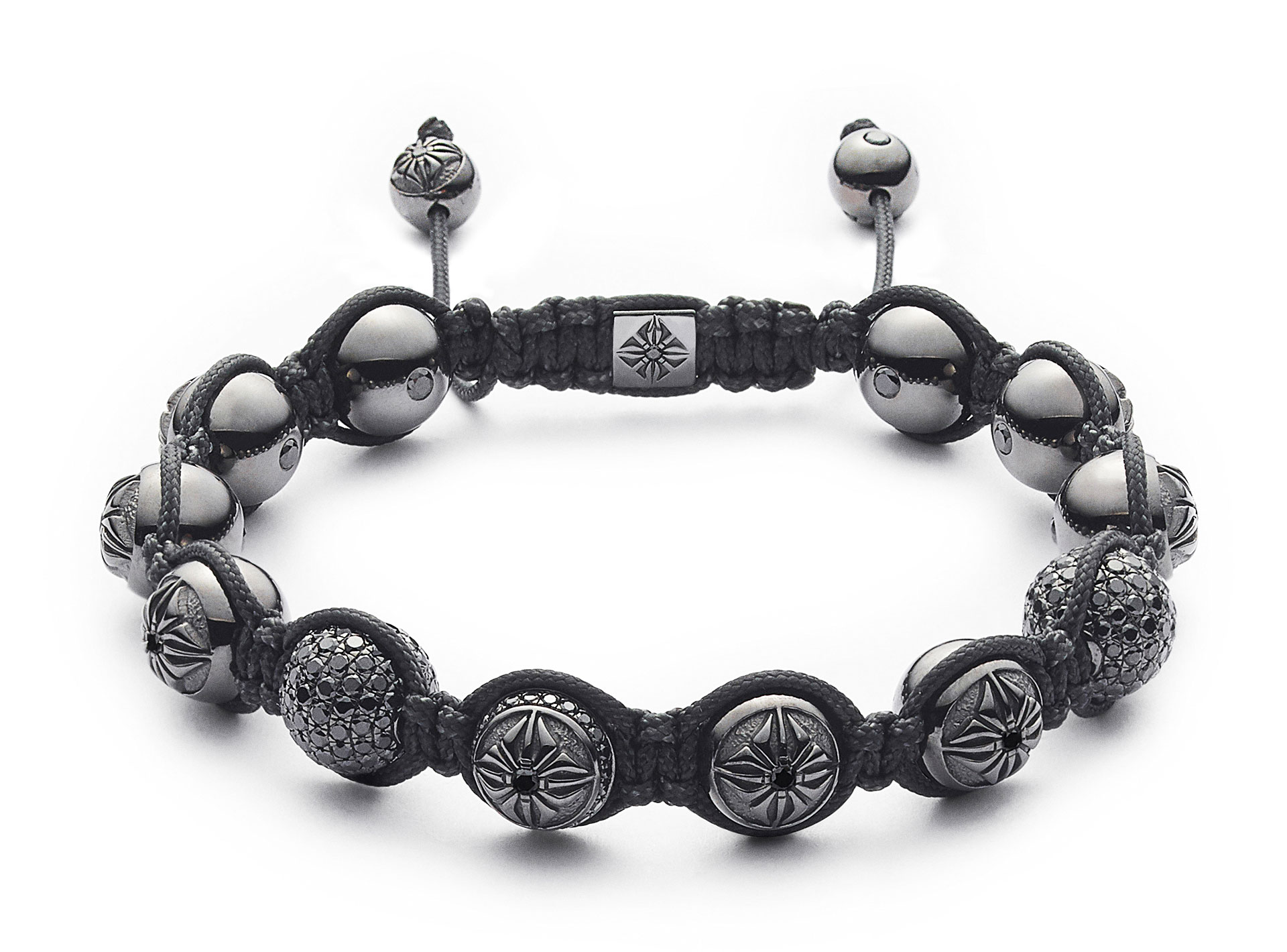10mm Braided Bracelet Shamballa Jewels