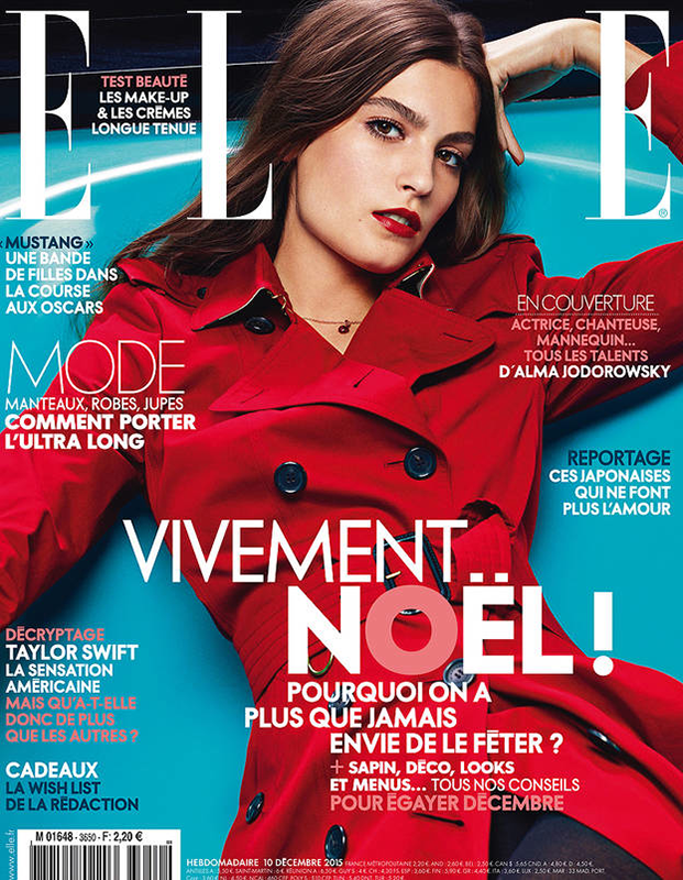 Elle France Dec 2015 Cover